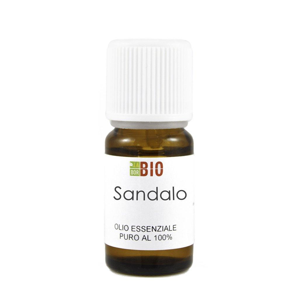 Olio essenziale SANDALO 5ML 100% PURO E NATURALE - AROMATERAPIA COSMETICA ALIMENTARE Laborbio