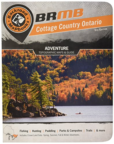Cottage Country Ontario Backroad Mapbook (Backroad Map Books)