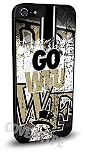 Wake Forest Demon Deacons Cell Phone Hard Plastic Case for iPhone 4/4s