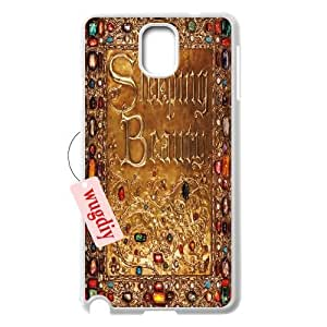wugdiy DIY Case Cover for Samsung Galaxy Note 3 N9000 with Customized Sleeping Beauty
