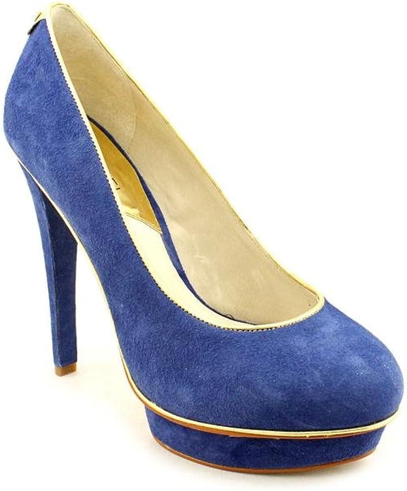 Michael Kors Gideon Pump Womens Blue
