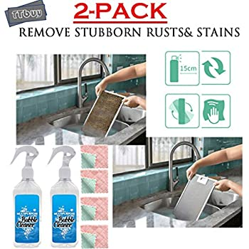 TTbuy 2Pack All Purpose Cleaner,Kitchen Cleaner Spray,Home Mold & Mildew Remover Gel Stain Kitchen Grease Cleaner,Multi-Surface Foam Cleaner Grease& Grime Cleaner.