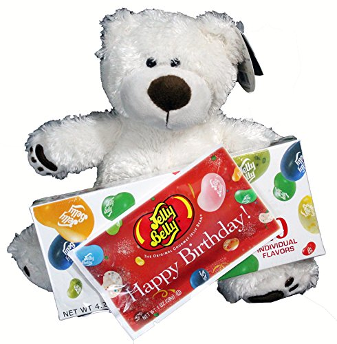 Birthday Gift Set For Kids - 3 Piece Plush Teddy Bear and Je