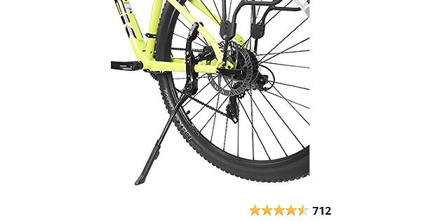 "BV Alloy Adjustable Rear Side Non-Slip Bicycle Bike Kickstand for 24"" - 29"" Mountain Bike/Road Bike/BMX/MTB ..."