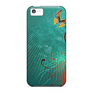 iphone 5 / 5s New Arrival mobile phone back case New Arrival Wonderful Sanp On butterfly love heart