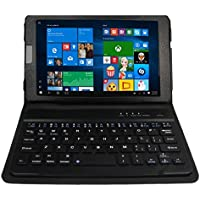 Ematic EWT828 2 in 1 8 Tablet/PC With Quad Core Processor, 1GB Memory, 32GB Storage and Windows 10
