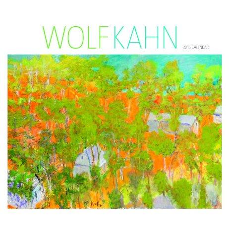 Wolf Kahn 2015 Wall Calendar