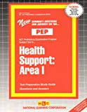 Health Support : Area I, Rudman, Jack, 0837355486