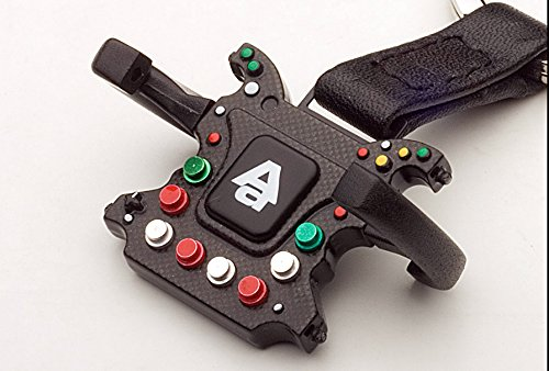F1 Steering Wheel New Design Carabina Keychain by AUTOart, used for sale  Delivered anywhere in USA