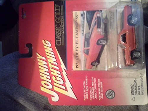 Johnny Lightning Classic Gold Collection - Real Wheel Series - (1971 Chevy El Camino SS) ()