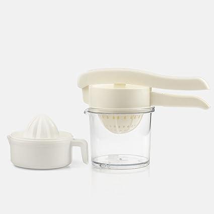 Exprimidor manual de MinegRong Exprimidor de jugo de naranja Exprimidor manual de limón Exprimidor de mini