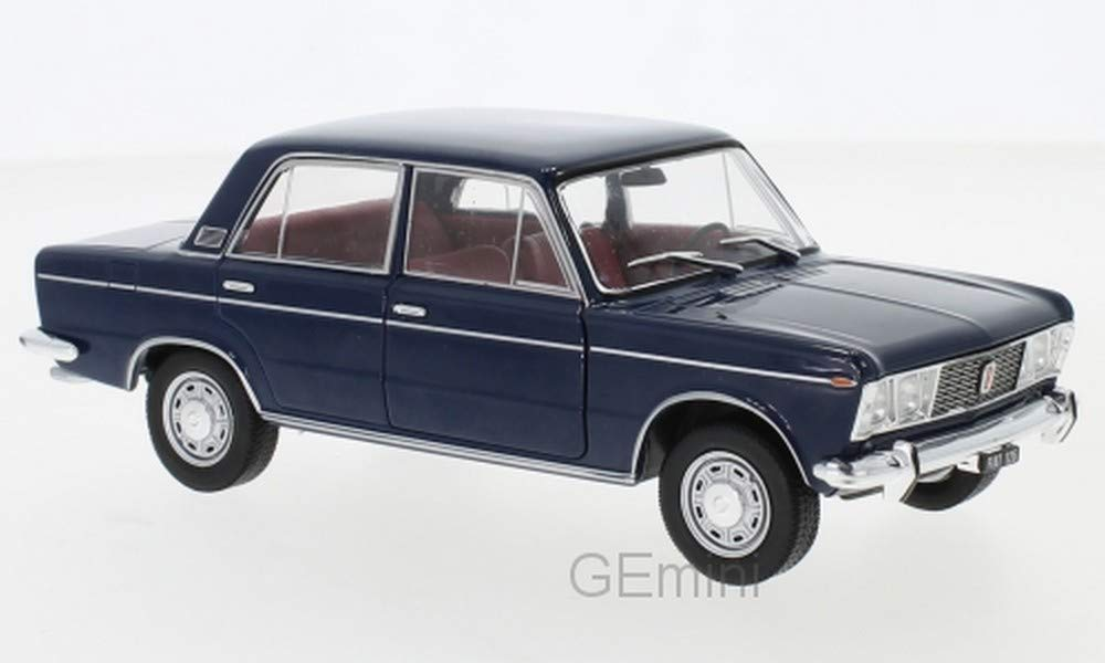 Whitebox Fiat 124 Blu 1970 1//24