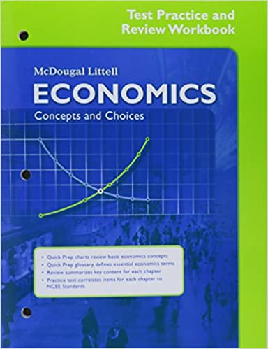 Economics Concepts And Choices Test Practice And Review