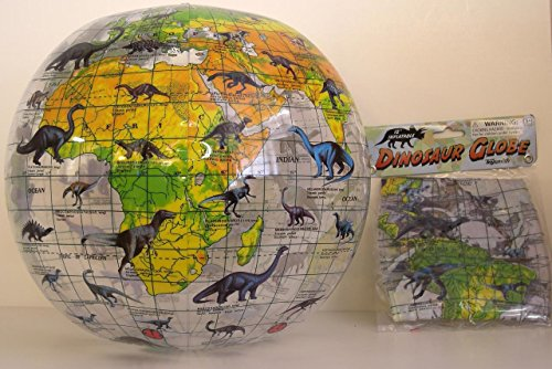 Dinosaur Inflatable Globe Learning Earth