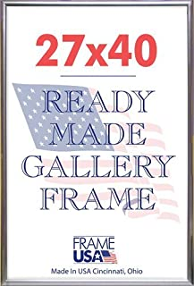 product image for 27x40 Deluxe Plastic Poster Frame (Silver)