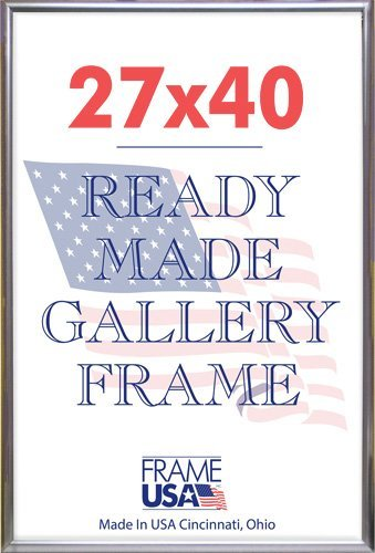 Amazoncom Frame Usa Deluxe Poster Frame 27 X 40 Silver