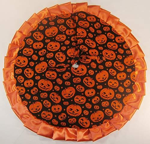Arkansewn Small Halloween Tabletop Tree Skirt, 24