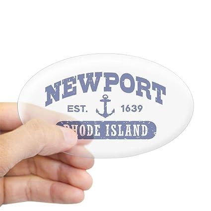 Amazon Com Cafepress Newport Rhode Island Oval Bumper Sticker Euro