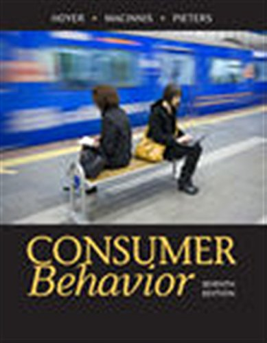 Consumer Behavior by Cengage Learning