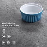 Sweese 502.607 Porcelain Souffle Dishes, Ramekins