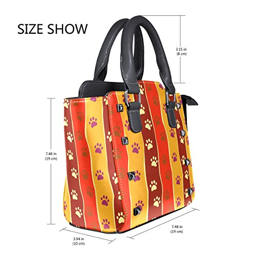 Multicolor Size Bag Women One Cloth Lianchenyi Fits Pu For All Leather 78cwY
