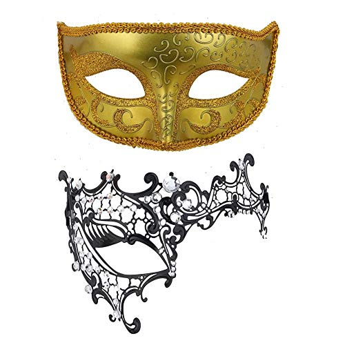 Vic Rattlehead Halloween Costumes - Naroote Face Mask, Rhinestone Decoration Hollow