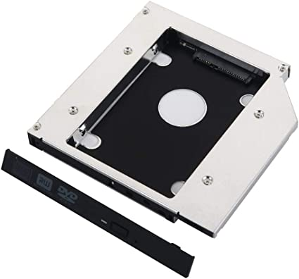 2nd SATA Hard Drive HDD SSD Caddy for Dell  E5400 E5410 E5420 E5430 E5510 E5520
