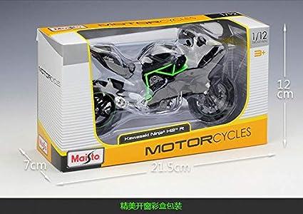 Amazon.com: MAISTO - Moto de escala 1/12 para Kawasaki Ninja ...