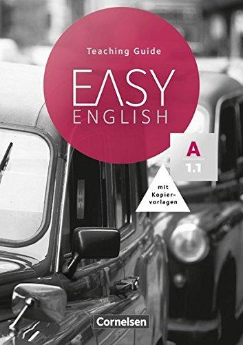 Easy English: A1: Band 1 - Teaching Guide mit Kopiervorlagen