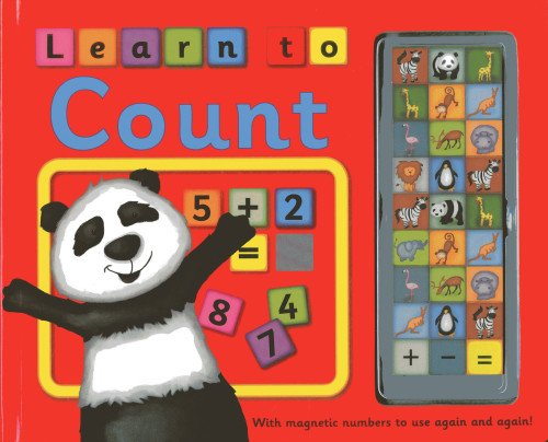 Download Learn To Count: With magnetic numbers to use again and again! pdf