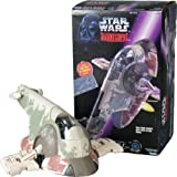 Star Wars Boba Fett's Slave I with Han Solo in Carbonite Shadows of the Empire toy