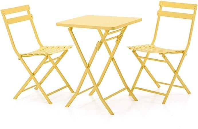Tavolini E Sedie Da Esterno.Tavolo E Sedie Da Balcone Nordico Pieghevole Da Esterno Tavolo E