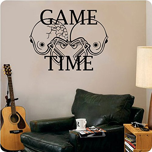 Game Time Football Sports Decal