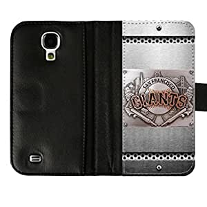Samsung Galaxy S4 i9500 Diary Leather Case with San Francisco Giants-by Allthingsbasketball