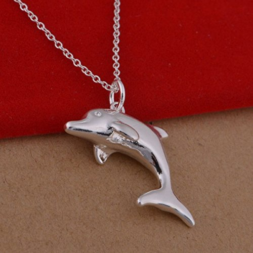 Collier dauphin argent 925