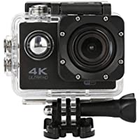 Sandsitore 4K Sport Action Camera 16MP WIFI Waterproof Camera 2inch LCD Screen 170 Ultra Wide-Angle Lens Underwater Camcorder And Full Accessories Kits (Black)