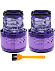 Filters Replacement for Dyson Vacuum Cleaner V11 Torque Drive, V11 Animal, SV14 Replace Part #970013-02 Washable and Reusable Hepa Filter - 2 Pack