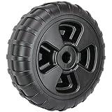 Extreme Max 3005.3729 24'' Heavy-Duty Plastic Roll-In Dock / Boat Lift Wheel
