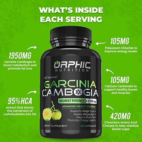Garcinia Cambogia Extract Capsules & Apple Cider Vinegar Gummies - Appetite Suppressant & Carb Blocker - Formulated for Weight Loss, Energy Boost & Gut Health - Supports Digestion, Detox & Cleansing 6