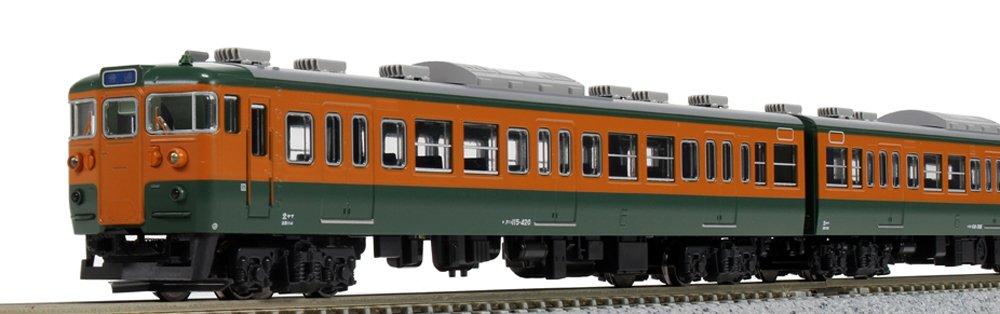 KATO Nゲージ 115系 300番台 湘南色 4両セット 10-1410 鉄道模型 電車   B01MS88O6Q