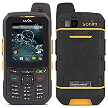 Sonim XP6 XP6700 8GB Android Factory Unlocked 4G/LTE Smartphone (Black / Yellow) - International Version with No Warranty