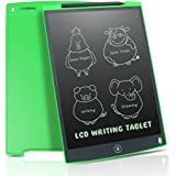 Newyes 12-Inch LCD Writing tablet Drawing board gifts for kids office writing memo board (Green)