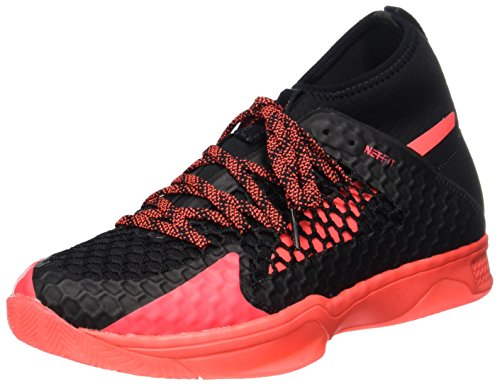 Coral Deportivas Para Zapatillas Unisex Indoor Negro Puma Adulto fiery 1 Interior black Evospeed Netfit nSBXqAO
