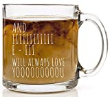 Best Good Gift Boyfriend Mugs - And I Will Always Love You Funny Coffee Review