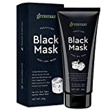 Black Mask Peel off Mask, Charcoal Purifying Blackhead Remover Mask Deep Cleansing for Acne & Acne Scars, Blemishes, Anti-Aging, Wrinkles, Organic Activated Charcoal
