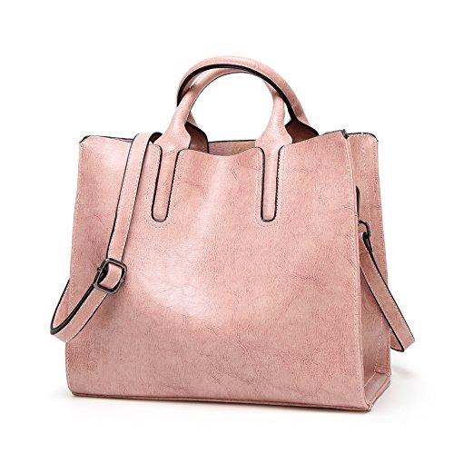 BBWAY - Bolso al hombro para mujer Luz De Color Caqui talla única Rosa