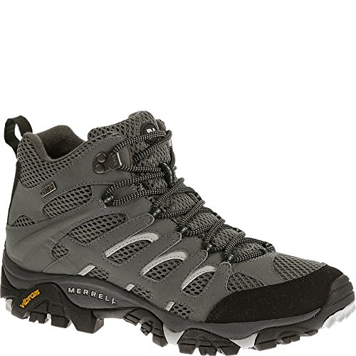 Merrell Mens Moab Mid Waterproof Hiking Boot Sedona Sage 10 M US