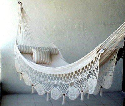 nicamaka couples hammock   ecru amazon     nicamaka couples hammock   ecru   hammocks   garden      rh   amazon