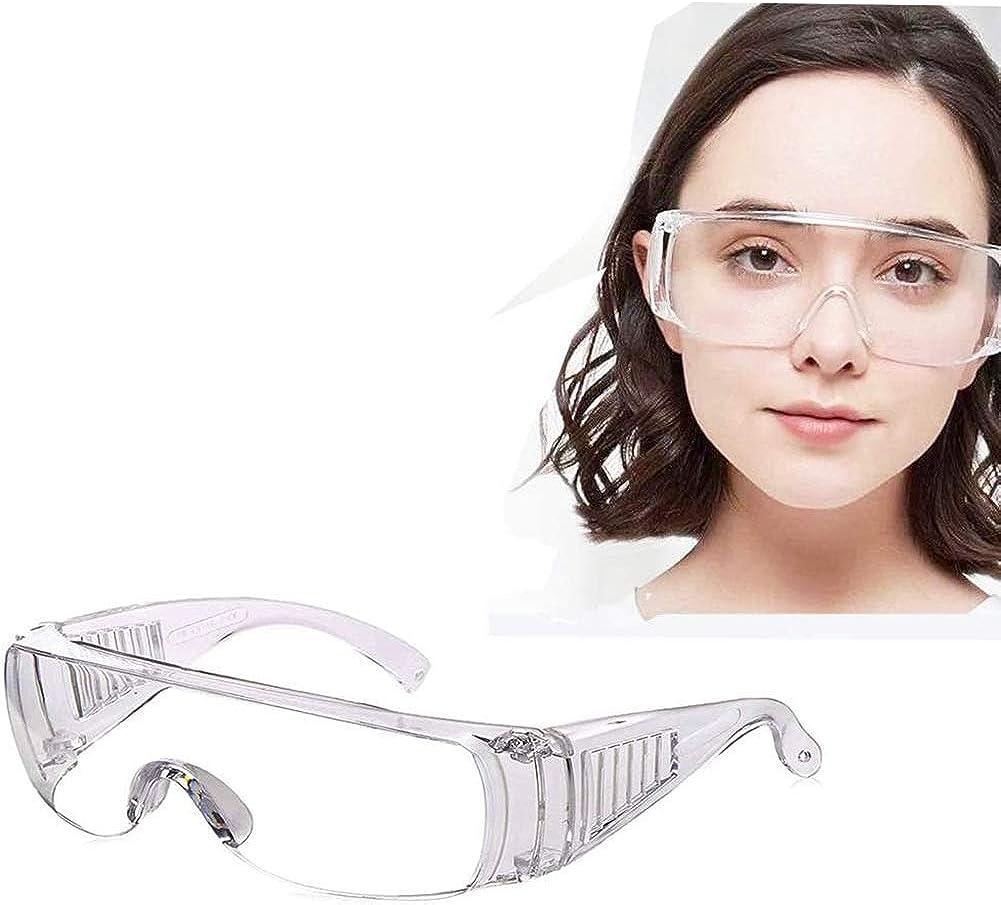 Gafas de seguridad Cihely 2 unidades de ciencias médicas antisaliva anti ultravioleta anti vapor gafas protectoras adecuadas para la vida diaria, trabajo de bricolaje, molienda, etc.