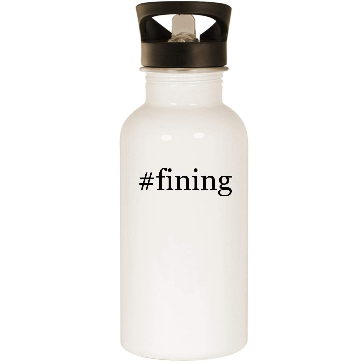 #fining - Stainless Steel 20oz Road Ready Water Bottle, White